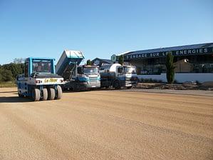 Le Roux TP – Travaux Publics – Plateforme industrielle - Préparation Parking - 4